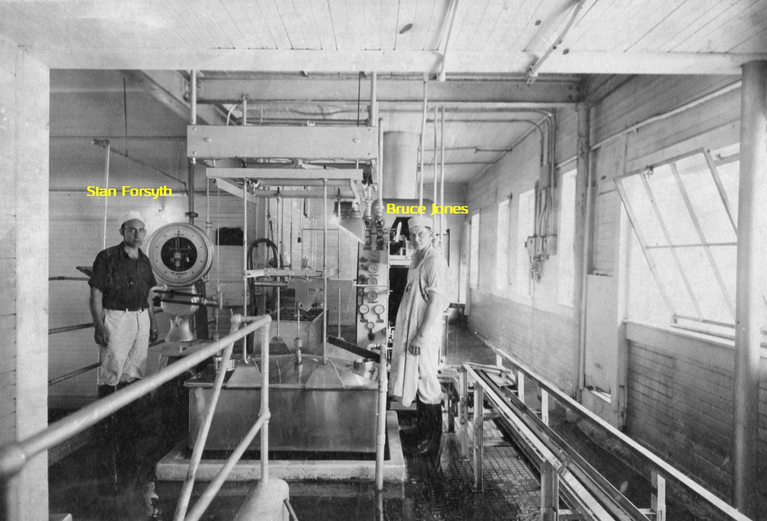 SG Forsyth_Borden's Creamery_Kingsley_PA _1940_markups